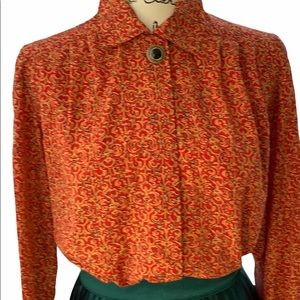 Notations Pettit original vintage blouse